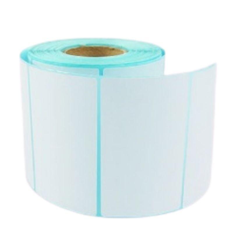 """Etiqueta Adesiva, em Bopp/Plástico medida 100X50mm - rolo com 850 Etiquetas, Tubete de 1""""/25mm"""