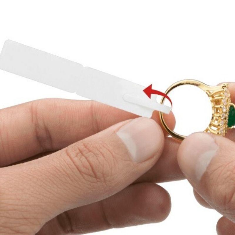 Etiqueta autoadesiva bopp/plastica medida 100X13mm Vermelha - 3000 Etiquetas.
