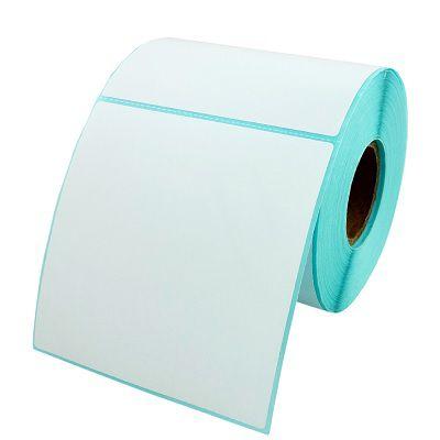 Etiqueta autoadesiva material sintetico para Congelados 100X100mm - 800 Etiquetas