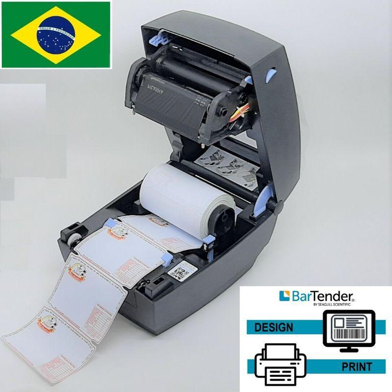 Etiqueta poliestireno 110X75mm colorida com 01 cor de impressão - 8.000 etiquetas