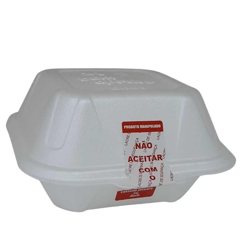 Etiquetas Lacre Delivery Ifood com picote de segurança 9000 etiquetas