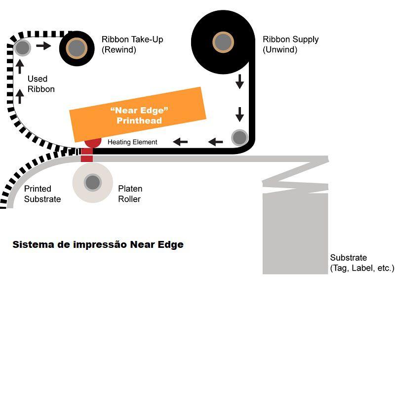 Fita para Embalagem Flexível - Near Edge 33X1000Metros Misto VRN07