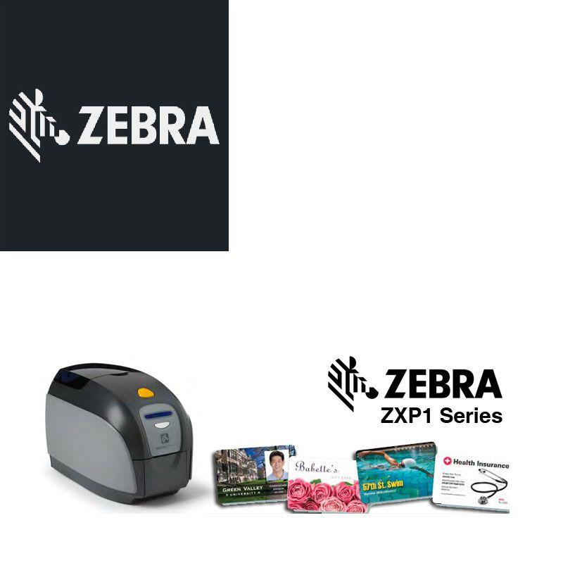 Impressora de Cartão Zebra ZXP1 com Impressão Colorida, USB