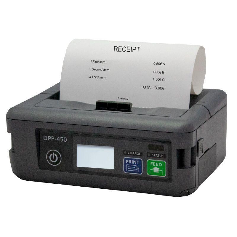Impressora Portátil Datecs DPP450 BT