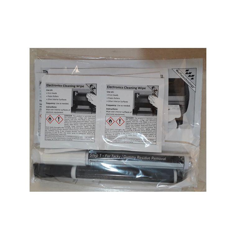 """Kit de Limpeza para Impressora Térmica de Etiquetas 4"""""""