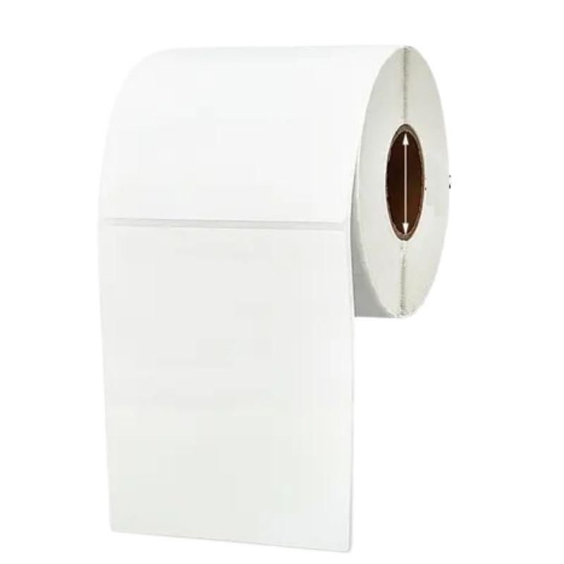 Kit etiqueta autoadesiva papel couche 100X150mm/490 etiquetas+1 unidade fita ribbon