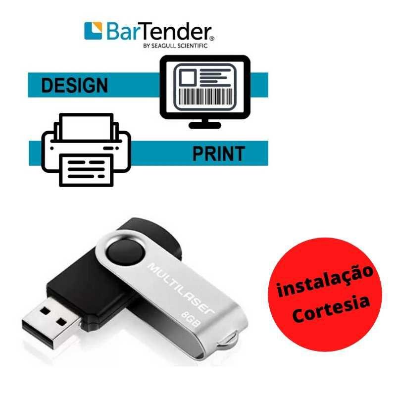 Kit Impressora + Etiquetas Interna Embalagem à Vacuo.