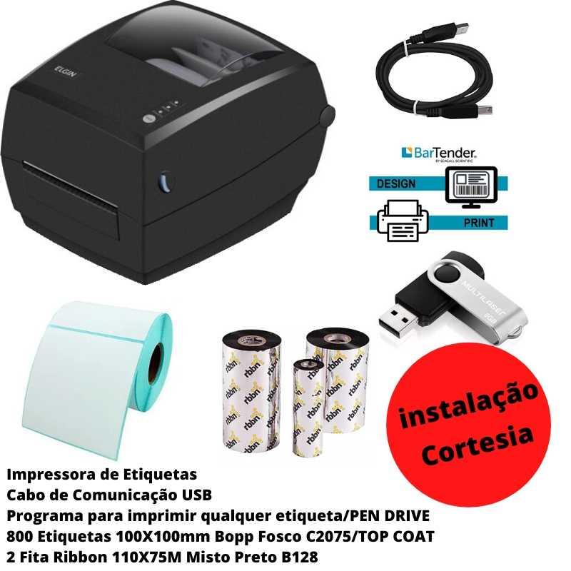 Kit Sistema de Impressão Congelados 100X100
