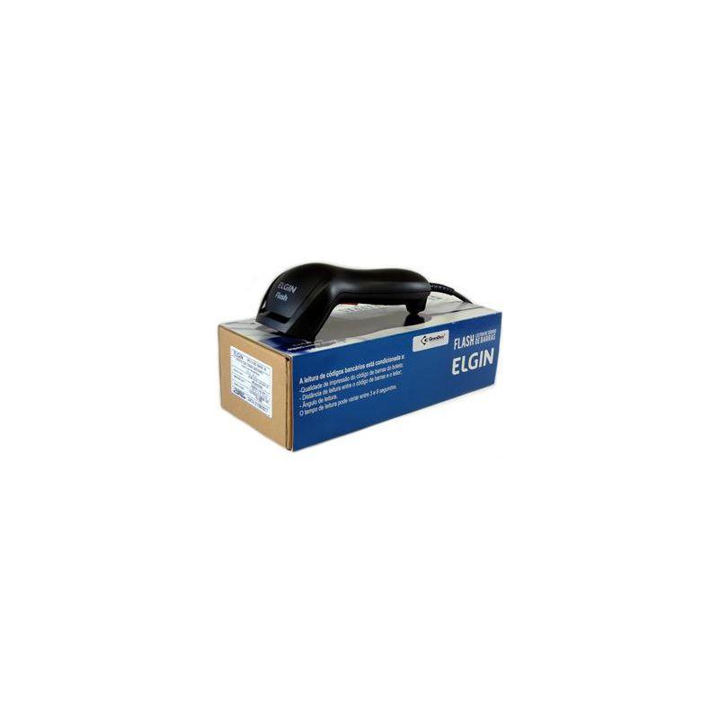 Leitor de código de Barras Flash USB/Preto PN.: 46FLASHCKD00