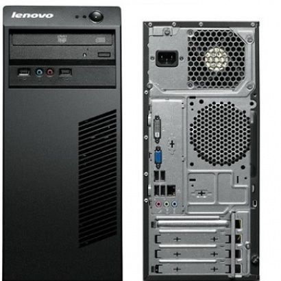 Lenovo DeskTop Torre 63 Intel Core i3-4160, 3.6 GHz, 4GB RAM, 500GB HD, DVDRW,Win8.1 Pro 64,PDG7
