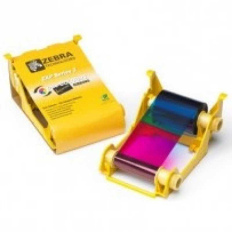 Ribbon Colorido Zebra ZXP Series 3/ZXP3 - 800033-840 Color 200 Impressões Compatível