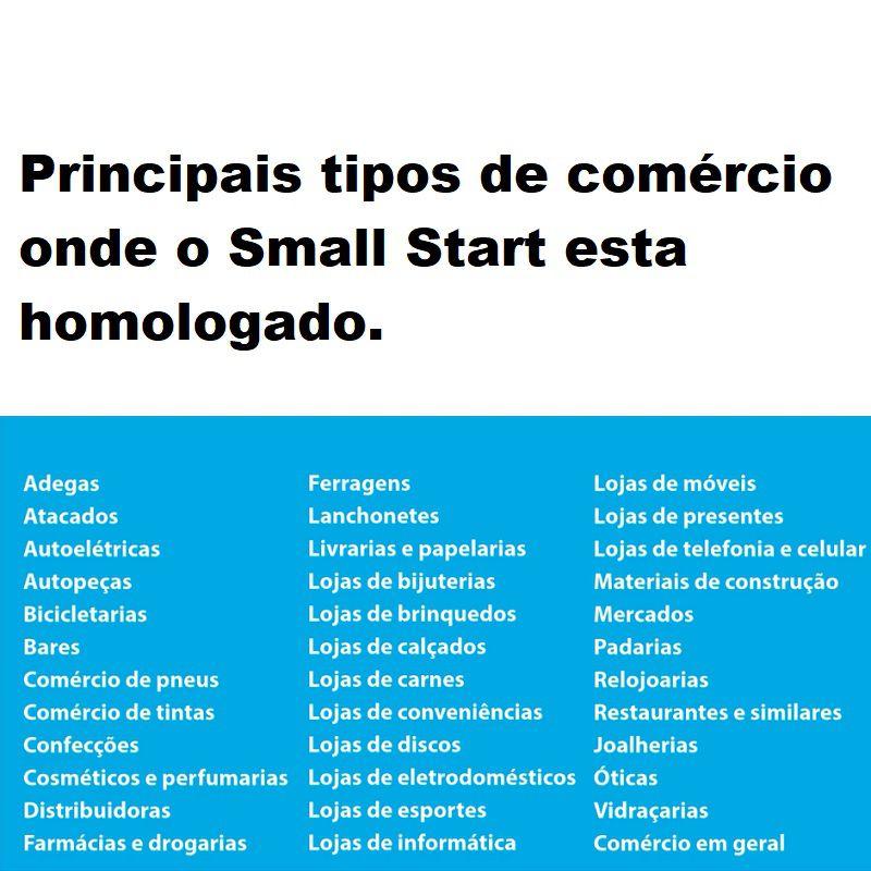 Sistema para emissão do Cupom Fiscal e nota fiscal eletrônica - Small Start
