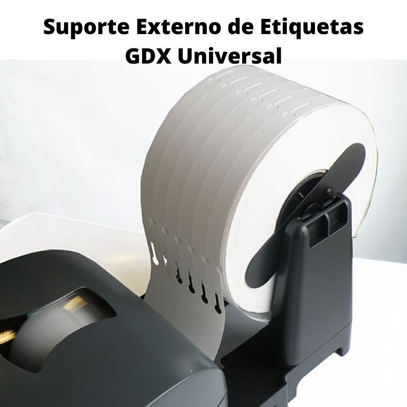 Suporte Externo de Etiquetas GDX Universal