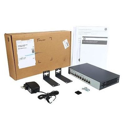 Switch 8p Hp 1820-8g J9979a 10/100/1000mbps