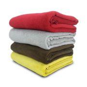 Kit 4 Manta Cobertor para Cachorro Gato Pet 1,10 x 0,90m Macia Coral Fleece - Berve