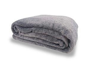 Cobertor Ultra Soft Queen - Extra macio - 300 - Cinza claro