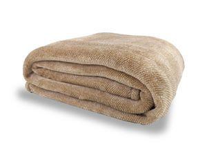 Cobertor Ultra Soft Queen - Extra macio - 300 - Mostarda