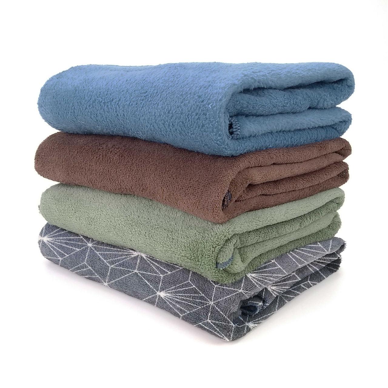 Kit 4 Cobertor Manta Pet Fleece Gato Cachorro 1,10 x 0,90m - Berve Enxovais