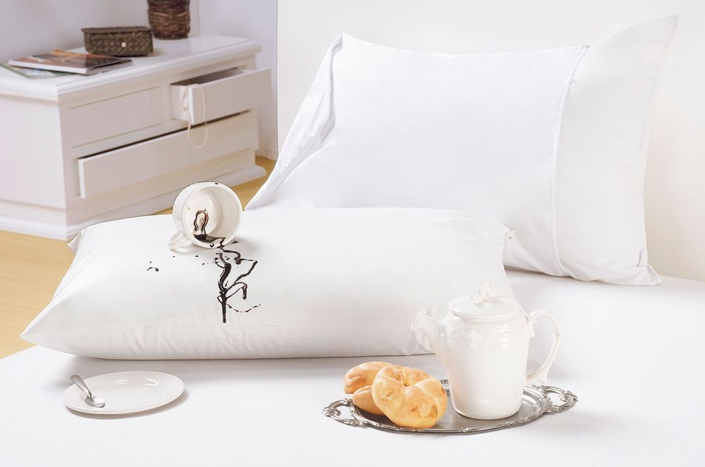 Protetor de Travesseiro Impermeável 4 Unidades