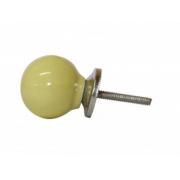 Puxador de Gaveta Bola Cerâmica Sobrepor Vênus