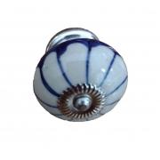 Puxador de Gaveta-Cerâmica-Decorado-Sobrepor-Vênus-3076