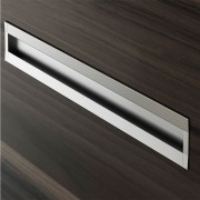 Puxador para Móvel-Alumínio-Embutir-Zen-Smart