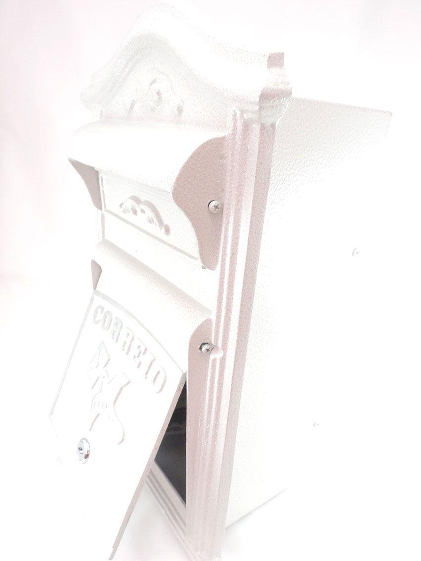 Caixa Correio-Alumínio-Classic Frontal-Prates e Barbosa