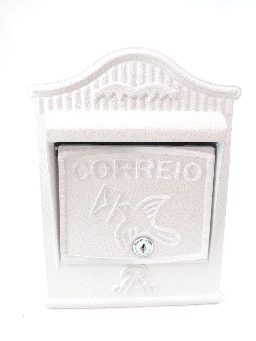 Caixa Correio Alumínio-Regiane Frontal-Prates e Barbosa