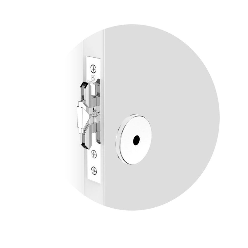 Fechadura-Auxiliar Tetra-Bater Correr-Bico de Papagaio 303-Soprano-TE 16