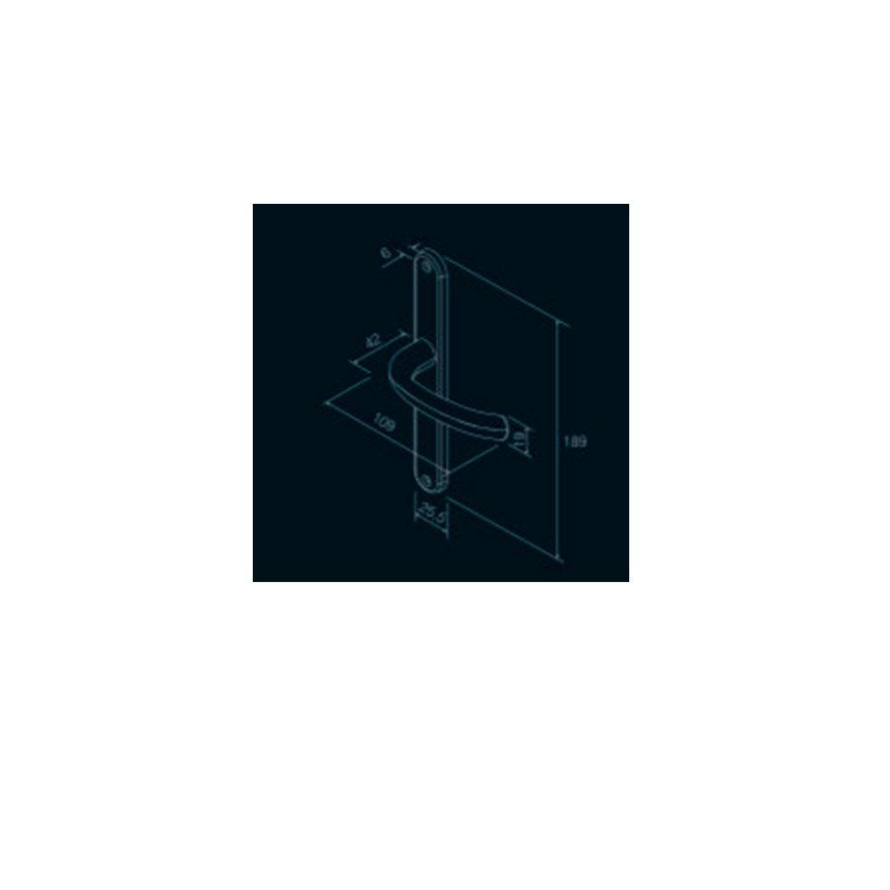 Fechadura-Maçaneta-Concept-Perfil-603-Pado