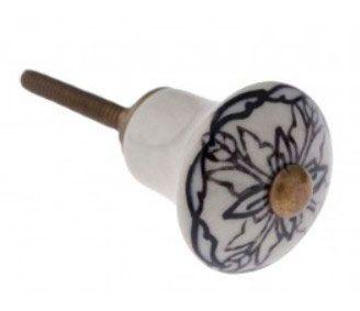 Puxador de Gaveta-Cerâmica-Sobrepor-Vênus-1699