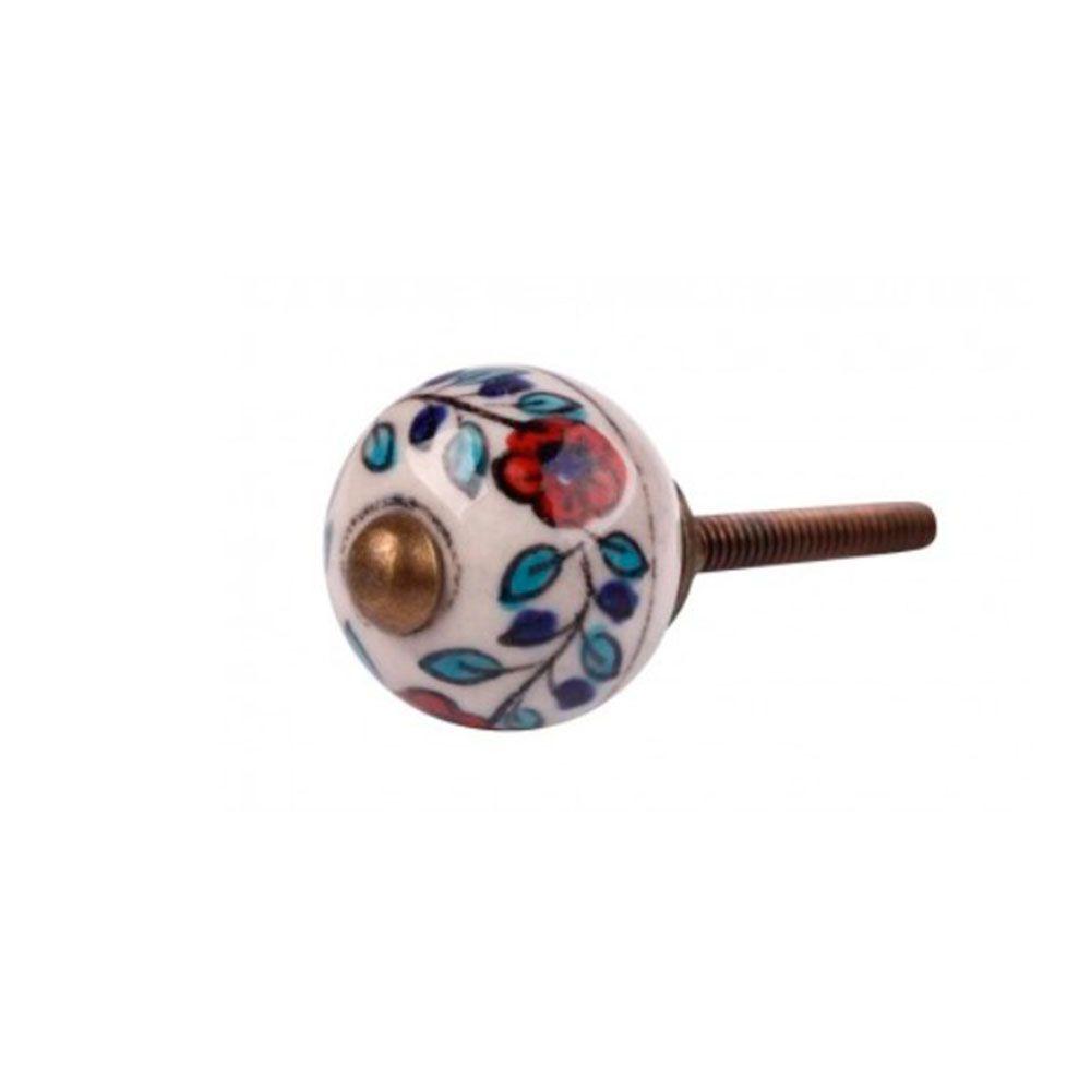 Puxador de Gaveta-Cerâmica-Sobrepor-Colorido-Vênus-1701
