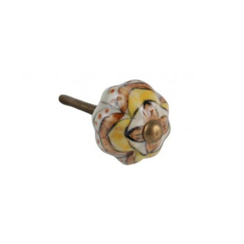 Puxador de Gaveta-Cerâmica-Sobrepor-Colorido-Vênus-3160