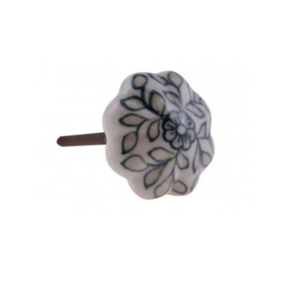Puxador de Gaveta-Cerâmica-Sobrepor-Vênus-3158