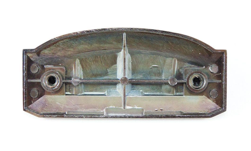 Puxador de Gaveta-Colonial-Sobrepor-Antique-Italy Line-105