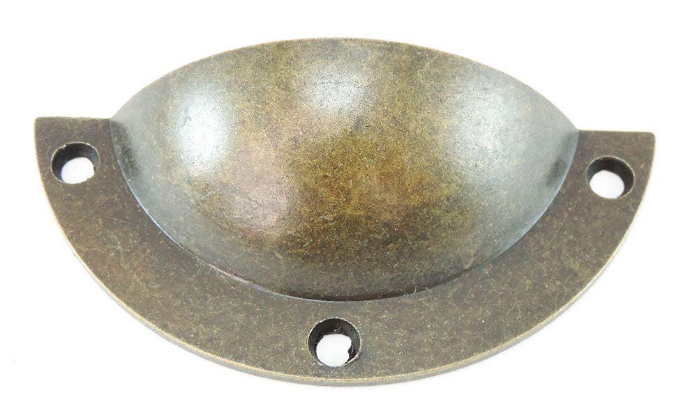 Puxador de Gaveta-Concha-Colonial-Sobrepor-Antique-Wind PZ 69