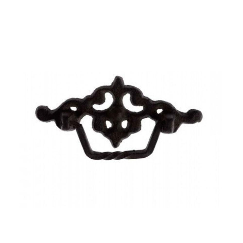 Puxador de Gaveta-Ferro-Sobrepor-Vênus-3020/3019