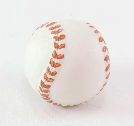 Puxador de Gaveta-Sobrepor-Resina-BSKF-Bola Baseball