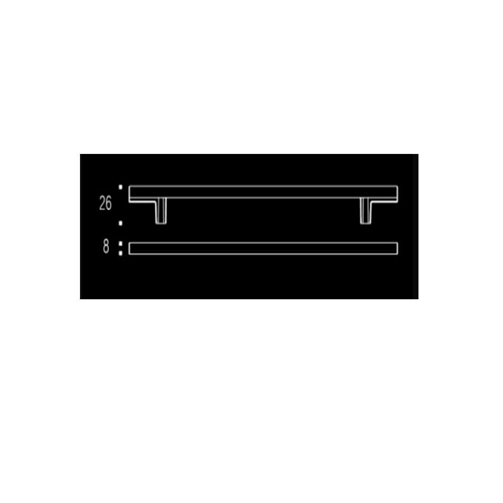 Puxador de Gaveta-Sobrepor-Zen-Space