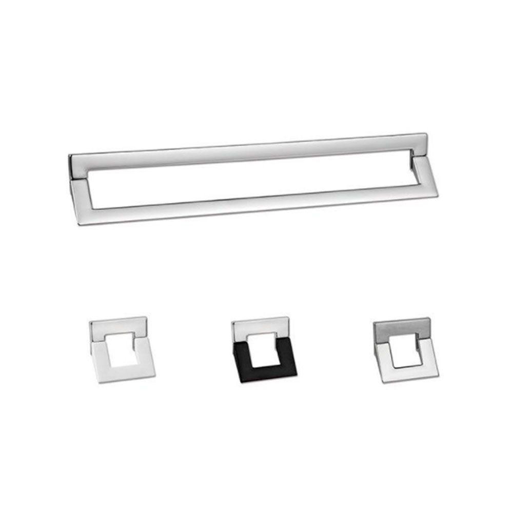 Puxador de Gaveta-Zamac/Alumínio-Sobrepor-Zen-Swing
