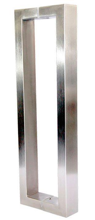 Puxador de Porta Inox Sobrepor Stanfer 731