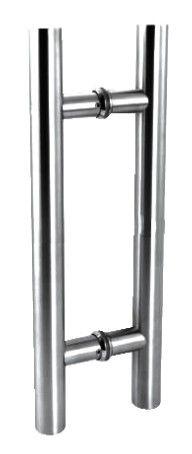 Puxador de Porta-Inox-Sobrepor-ITALY LINE-DF 907