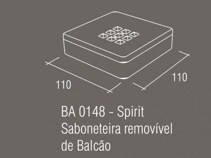 Saboneteira-de-Balcão-Zamac/Acrílico-Zen-SPIRIT