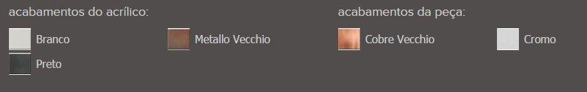 Saboneteira Líquida Fixa Zamac/Acrílico Zen MISS