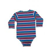 Body Segunda Pele multicolorido Para Bebê