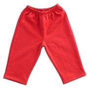 Calça Moleton Vermelha para Bebê