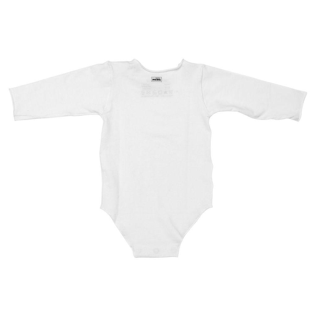 Body Segunda Pele Branca Para Bebê Unissex