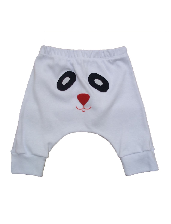 Calça Saruel Branco para Bebê
