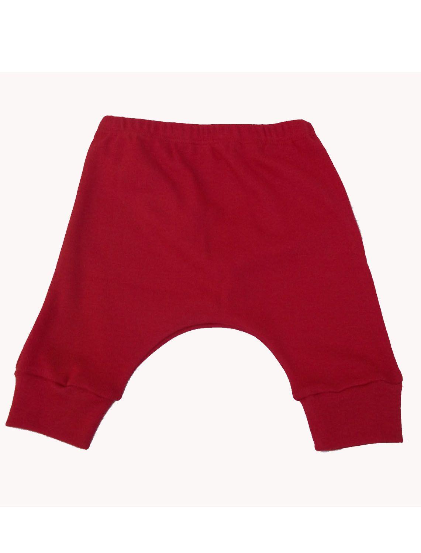 Calça Saruel Vermelho para Bebê
