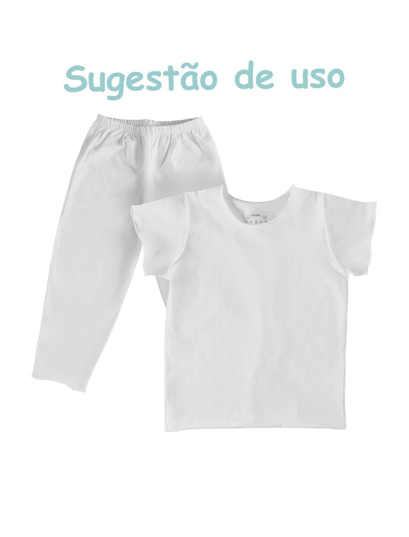 Camiseta Manga Curta Confort